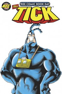 The Tick Supports Free Comic Book Day