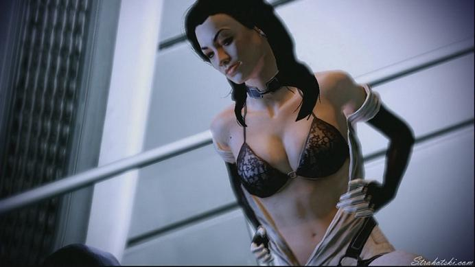 Miranda Lawson Sex Scene - Mass Effect 2